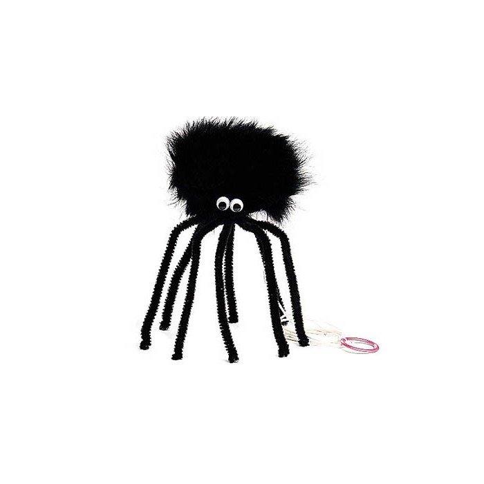 Araignée en fourrure