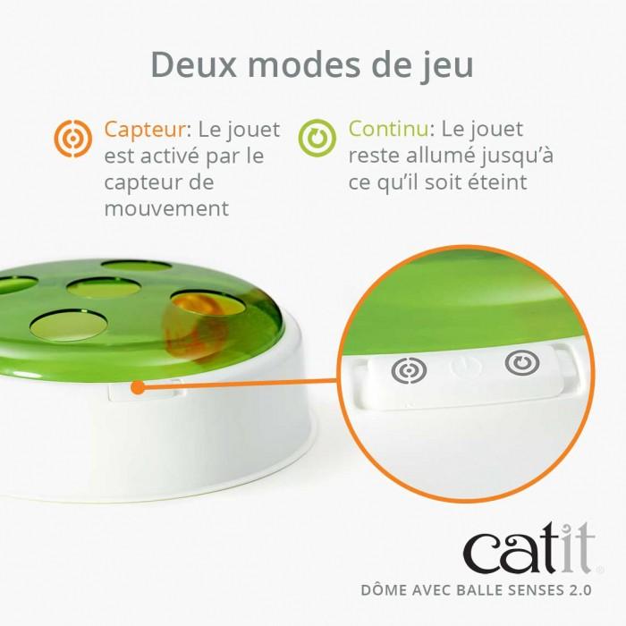 Jouet pour chat - Dôme Senses 2.0 pour chats