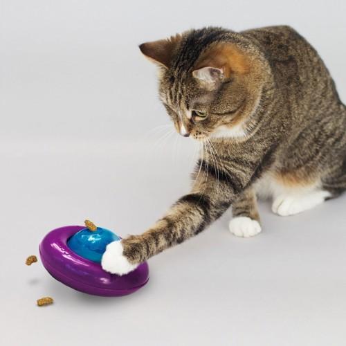 Jouet pour chat - Jouet distributeur Infused Cat Gyro  pour chats