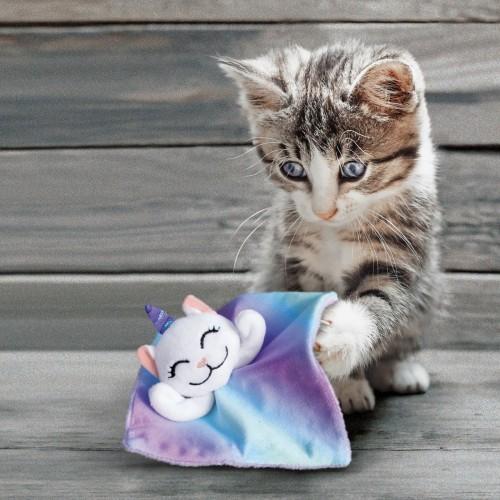 Jouet pour chat - Peluche Crackles Caticorn pour chats