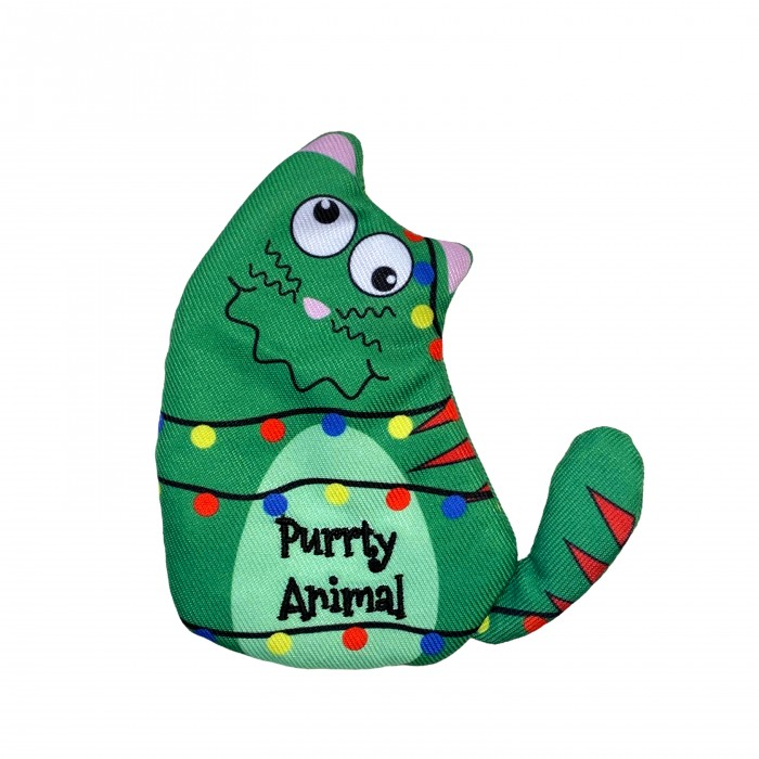 Jouet pour chat - Peluche de Noël Purrsonality pour chat pour chats
