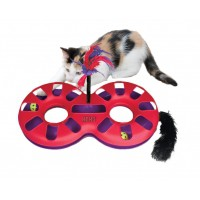 Jouet interactif pour chat - Jouet Eight Track KONG