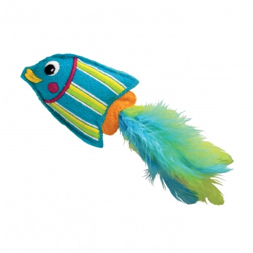 Peluches poisson peluche pour chat kong wanimo for Jouet pour poisson rouge