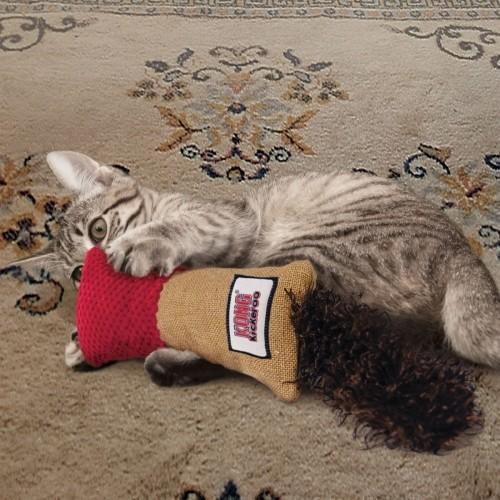 Jouet pour chat - Peluche Kickeroo  KONG pour chats