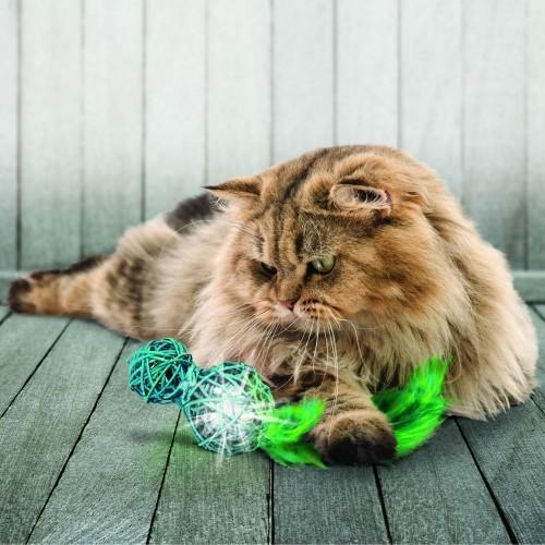 Jouet pour chat - Jouet Wubba Wicker pour chats