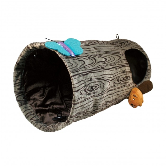 Jouet pour chat - Tunnel Spaces Burrow KONG pour chats