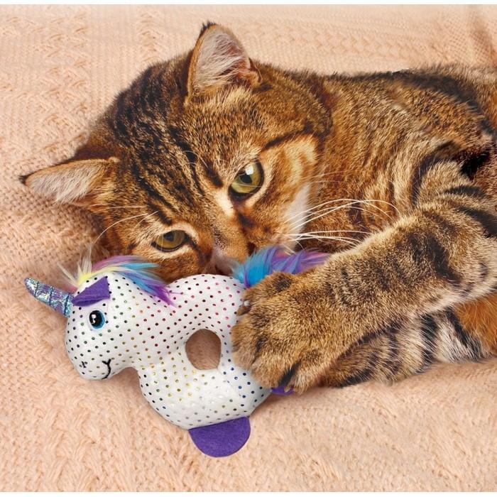 Jouet pour chat - Peluche Animaux Enchantés KONG pour chats
