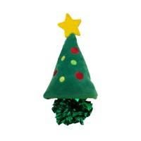 Peluche pour chat - Peluche Sapin de Noël Crackles KONG KONG