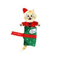 Peluche pour chat - Peluche chat de Noël Pull-A-Partz KONG KONG