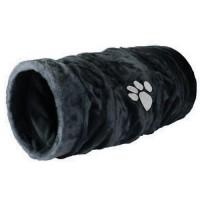 Tunnel de jeu pour chat, rongeur et furet - Tunnel de jeu en fourrure synthétique