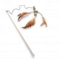 Jouet pour chat - Canne à pêche en matatabi  Beeztees