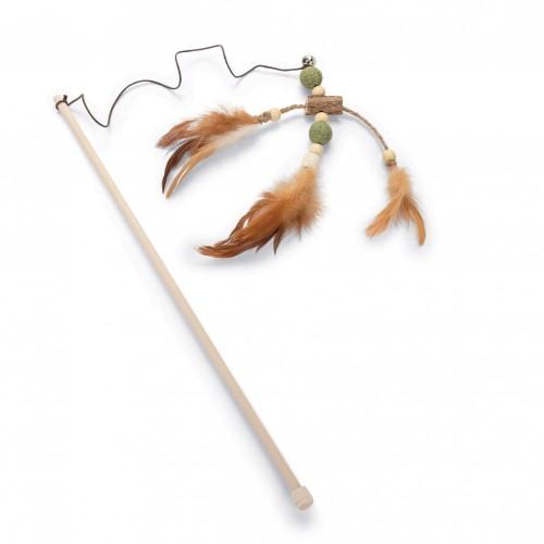 Jouet pour chat - Canne à pêche en matatabi  pour chats