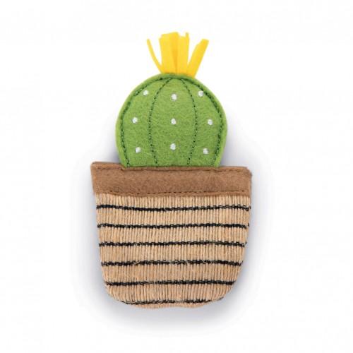 Jouet pour chat - Cactus à l'herbe à chat  pour chats
