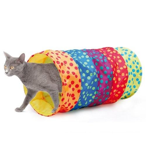 tunnel modulaire en nylon tunnel de jeu pour chat camon wanimo. Black Bedroom Furniture Sets. Home Design Ideas