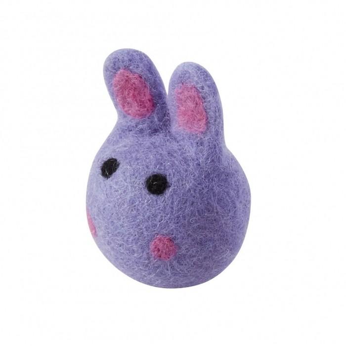 Jouet pour chat - Petit lapin en laine pour chats