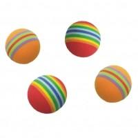 Balle pour chat - Lot de 4 balles Eponge