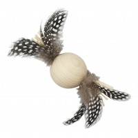 Balle pour chat - Balle à plumes Natural Anka