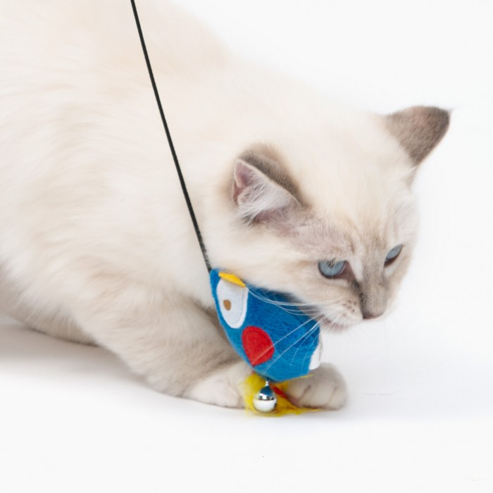 Jouet pour chat - Canne à pêche Pirate pour chats
