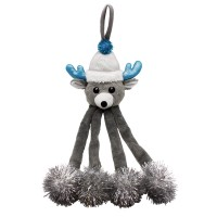 Peluche pour chat - Peluche Renne Winter Wonderland pour chat Happy Pet