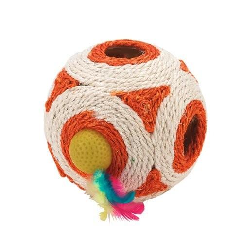 Balle pour chat - Dé à jouer en sisal Kerbl