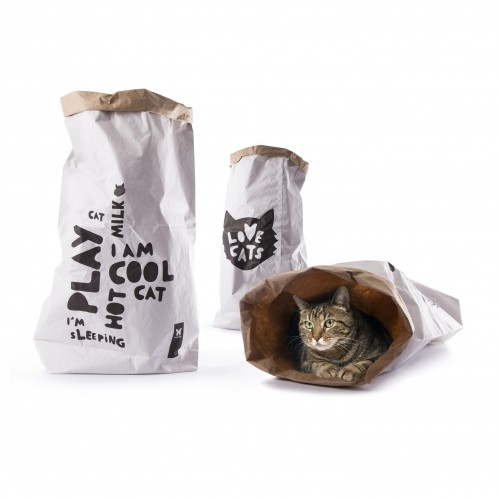 Sélection Made in France - Aire de jeu Sac Kraft pour chats