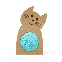 Balle pour chat - Balle pelote de laine Meyou