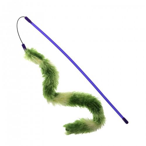 Jouet pour chat - Canne à pêche Glow Tail pour chats