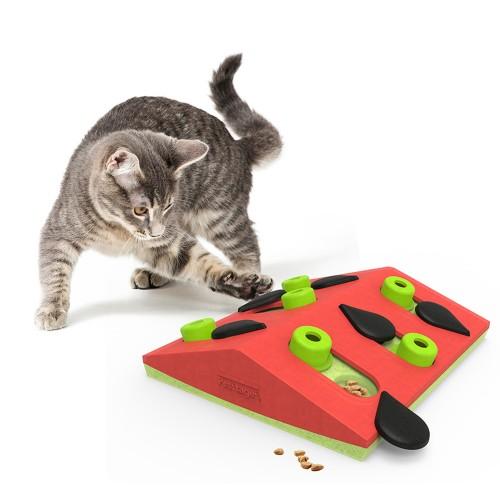 Jouet pour chat - Jouet distributeur Melon Madness pour chats