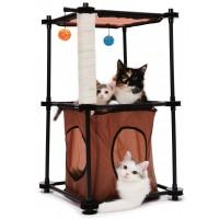 Aire de jeu pour chat - Aire de jeu Tower Kitty City
