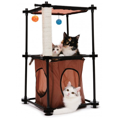 Aire de jeu pour chat - Aire de jeu Tower Kitty City