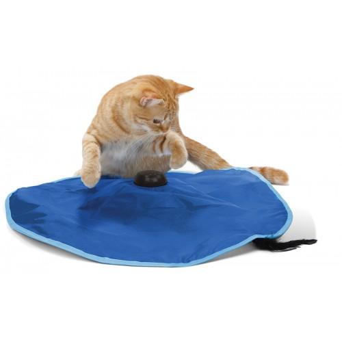 Jouet pour chat - Tapis de jeu Attrape moi si tu peux pour chats
