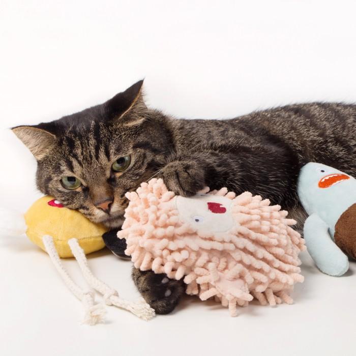 Jouet pour chat - Peluche Little Monster pour chats