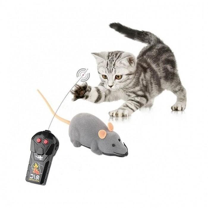 Jouet pour chat - Jouet Souris télécommandée pour chats