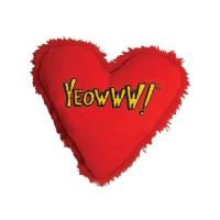 Jouet peluche pour chat - Peluche coeur euphorisante Yeowww
