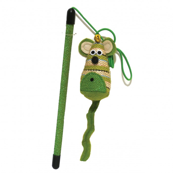Jouet pour chat - Canne à pêche Mr Mouse pour chats