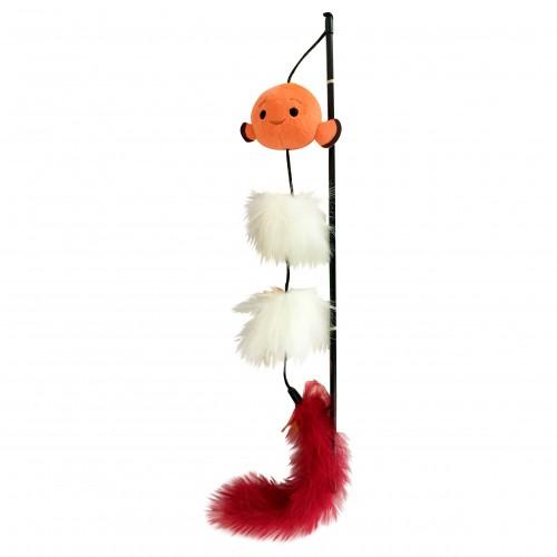 Jouet pour chat - Canne à pêche Tsum Tsum pour chats