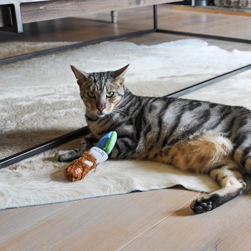 Jouet pour chat - Peluche Floppy Rabbit pour chats
