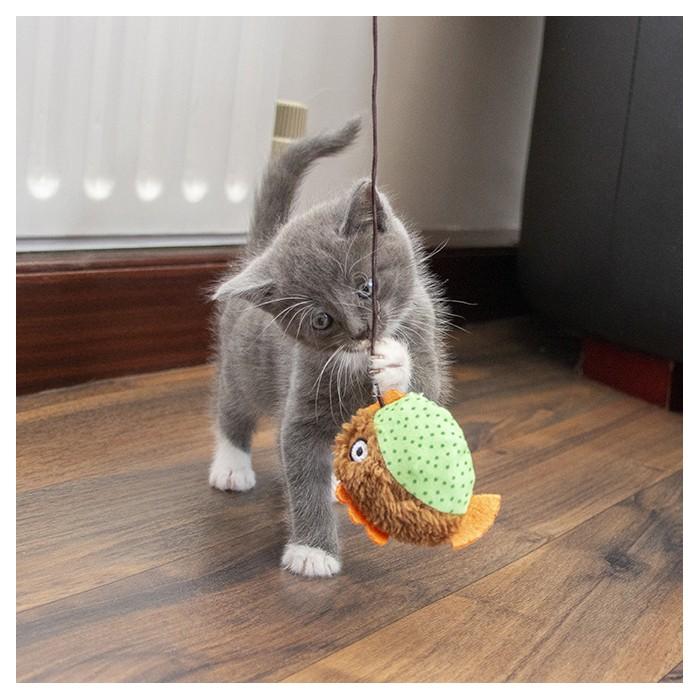 Jouet pour chat - Canne à pêche Floppy Fish pour chats