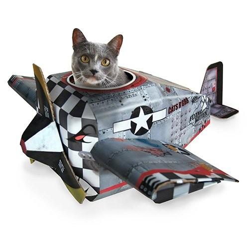 Jouet pour chat - Aire de jeu Petit Avion  pour chats