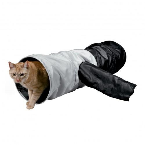 Jouet pour chat - Tunnel à 4 entrées XXL pour chats