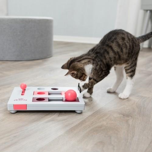 Jouet pour chat - Jeu de stratégie Brain Mover Cat Activity pour chats