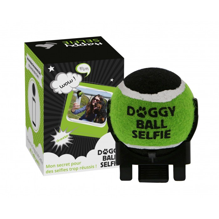 Accessoires pour selfies canins Doggy-ball-selfie-