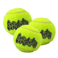 Balle pour chien - Trio de Balles de Tennis SqueakAir KONG