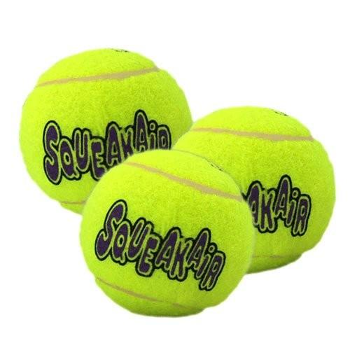 Jouet pour chien - Trio de Balles de Tennis Air Squeaker  pour chiens