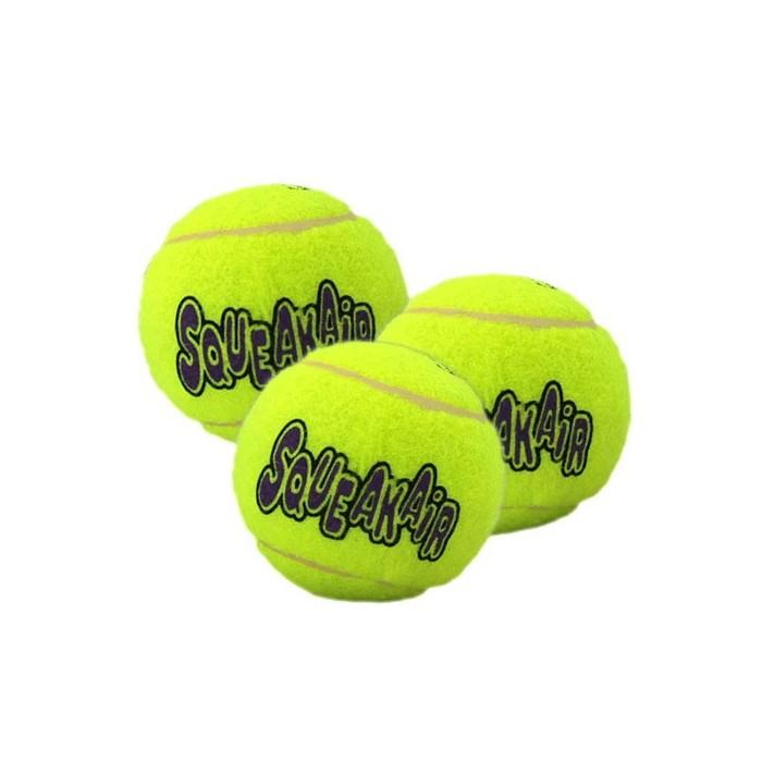 Jouet pour chien - Trio de Balles de Tennis SqueakAir KONG pour chiens