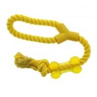 Jouet à mâcher pour chien - Jouet corde Os