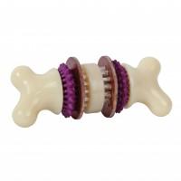Jouet à mâcher pour chien - Os Bristle Bone Busy Buddy