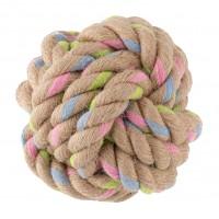 Jouet pour chien - Balle nœud - Chanvre & Coton Beco