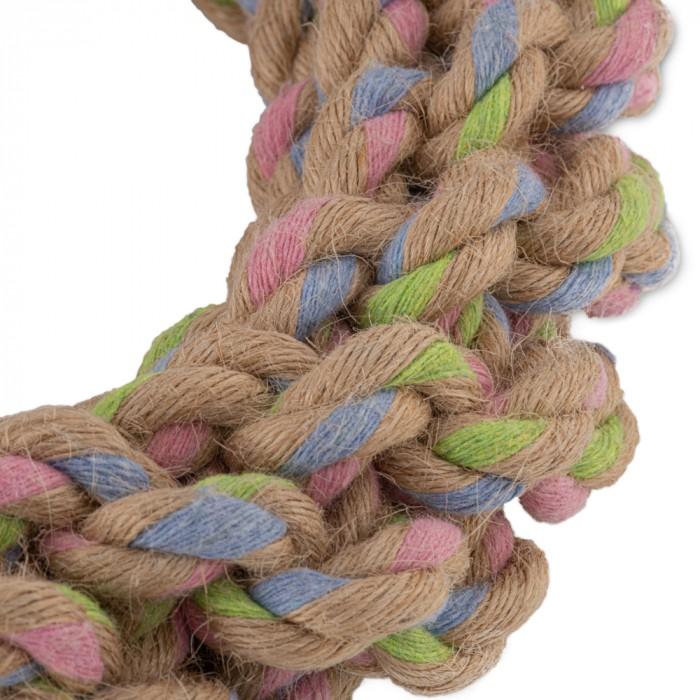 Jouet pour chien - Anneau nœud - Chanvre & Coton pour chiens