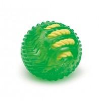 Balle pour chien - Balle corde fluo Beeztees